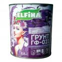 ГФ 021 серая 2.8л ELFINA краска